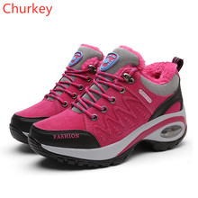 Women Shoes Sports Ladies Casual Winter Outdoor Comfortable Warmth Increase Sneakers