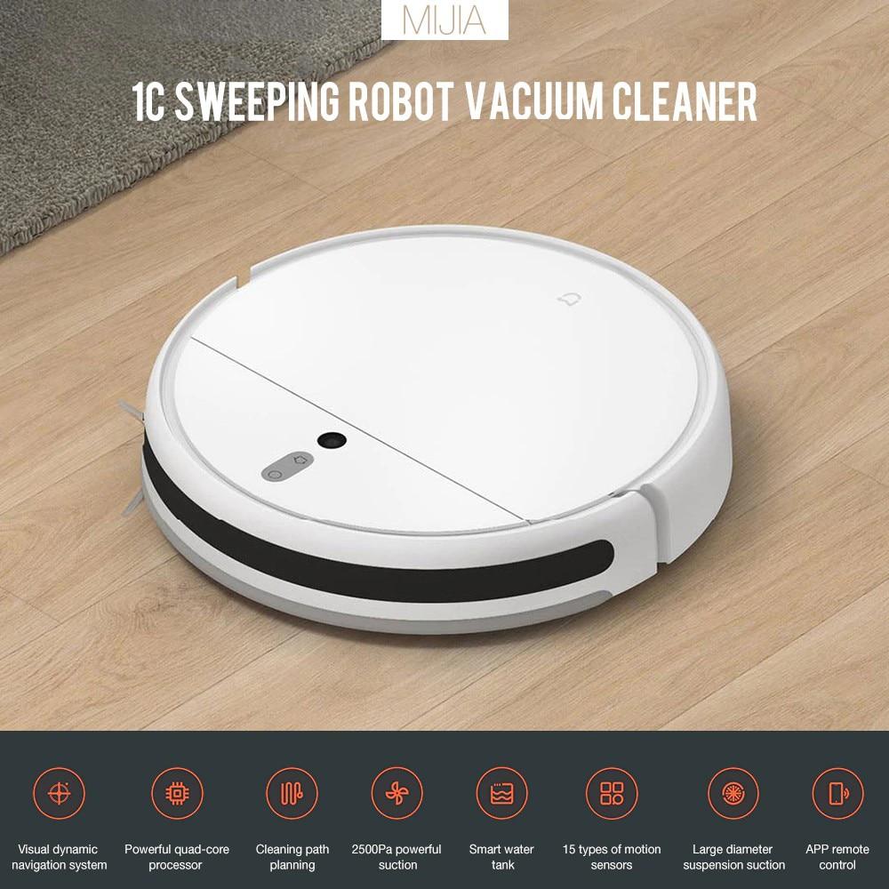 Робот-пылесос Xiaomi Mijia 1C для Mi Home, автоматический пылесос, стерилизация, управление через приложение, подметание, уборка
