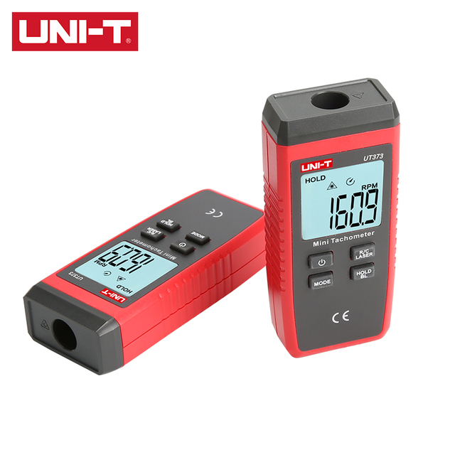 "UNI-T Digital Non-contact Tachometer UT373 Up to 99999 Display Overload Diaplay""OL"" Singal Trigger/Laser-on Indication"