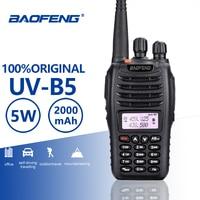 BaoFeng UV B5 Walkie Talkie New Hot Sell UV B5 Dual Band Vhf 136 174MHz&Uhf 400 470 MHz Small Mini LCD Screen UVB5 Two Way Radio