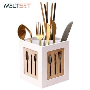 Multifunctional Wooden Storage Box Tableware Storage Basket Kitchen Cutlery Organizer Holder For Fork Chopstick Rack Hollow калюжный а психология и педагогика учебное пособие