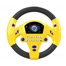 Baby Toys Steering-Wheel Children Simulation Educational-Toy with Light for Xmas/gift