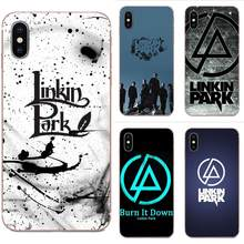 Soft TPU Wholesale Linkin Park Design For Xiaomi Mi3 Mi4 Mi4C Mi4i Mi5 Mi 5S 5X 6 6X 8 SE Pro Lite A1 Max Mix 2 Note 3 4(China)