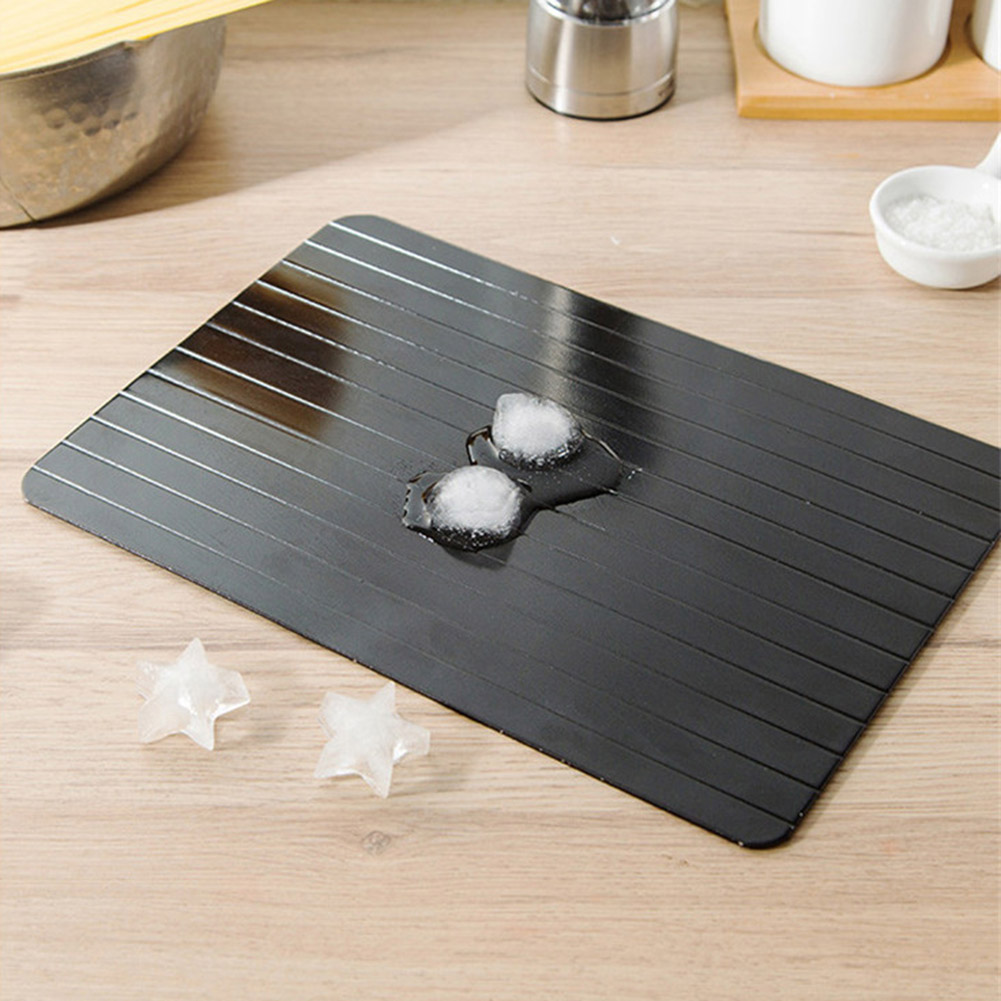 Hot Durable 2-in-1 Fast Defrosting Chopping Board Rapid Safe Steak Seafood Thawing Tray K888
