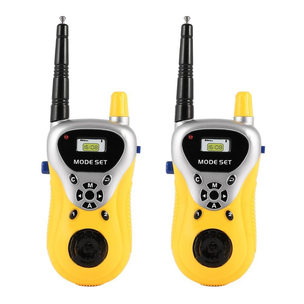 Toy Intercom Walkie-Talkie Two-Way-Radio Professional Handheld Lovely Portable 2pcs Mini