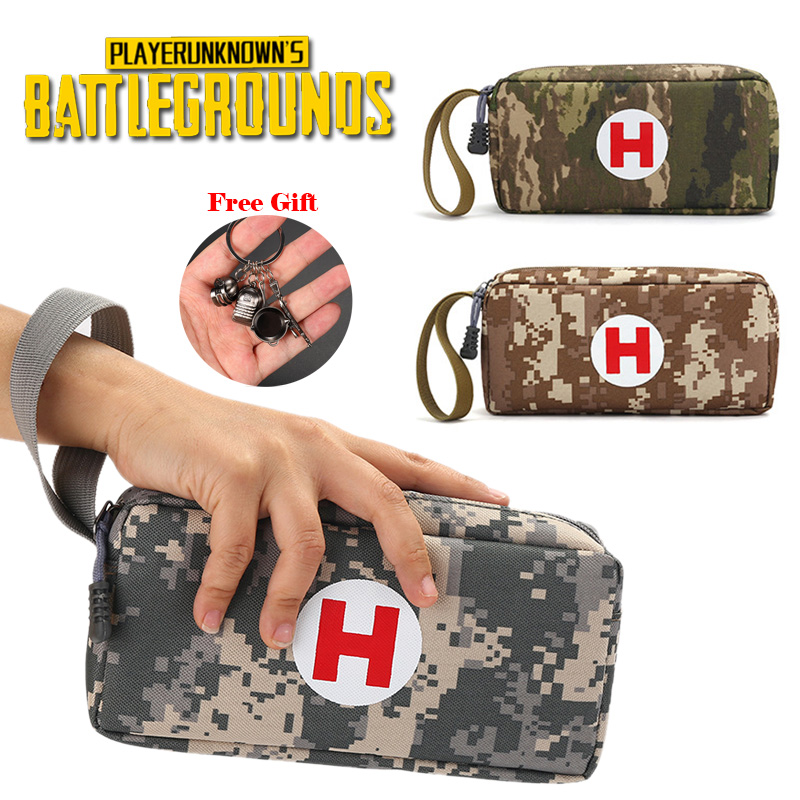 Pubg Medical Package High-capacity Pen Bag Cosplay Wallet Pencil Case Students Bags School  Playerunknown's Battlegrounds Kids