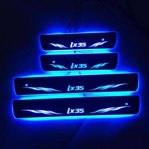 Image 2 - 4PCS/ישים כדי ix35 הזרמת צבע LED מנורת אדני דלת דוושה מוזמן/דינמי תאורת רכב סף עבור HYUNDAIIX35