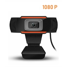 HD 1080P Webcam PC Mini USB 2.0 Web Camera With Microphone USB Computer Camera For Live Streaming Webcam 1080P/480P