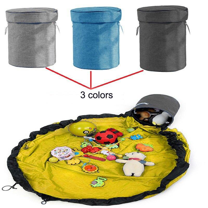 saco cordão recipiente portátil para crianças sala de brinquedo