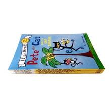 6 шт./компл. книги во-первых я могу прочитать Кот Пит Детские Классические история книги для детей раннего Educaction английский рассказов для чтения