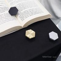 3 cores/antigo ouro bronze hexágono botões botão do armário lidar com cômoda puxadores gaveta puxa móveis de cozinha ferragem prata|Puxador de gaveta| |  -