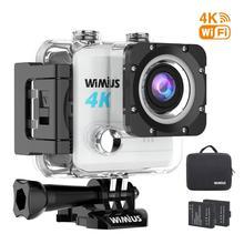 цена на Wimius L1 Waterproof Silver 4K  ULTRA HD DV Action Sports Camera WIFI 170 wide angle