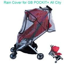 1:1 Tailor Made Kinderwagen Accessoires Goodbaby Regenjas Regenhoes Stofkap Winddicht Cover Voor Gb Pockit + alle Stad