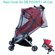 Accesorios de cochecito de bebé Goodbaby 1:1, impermeable, cubierta para el polvo y la lluvia, cubierta a prueba de viento para GB POCKIT + toda la ciudad