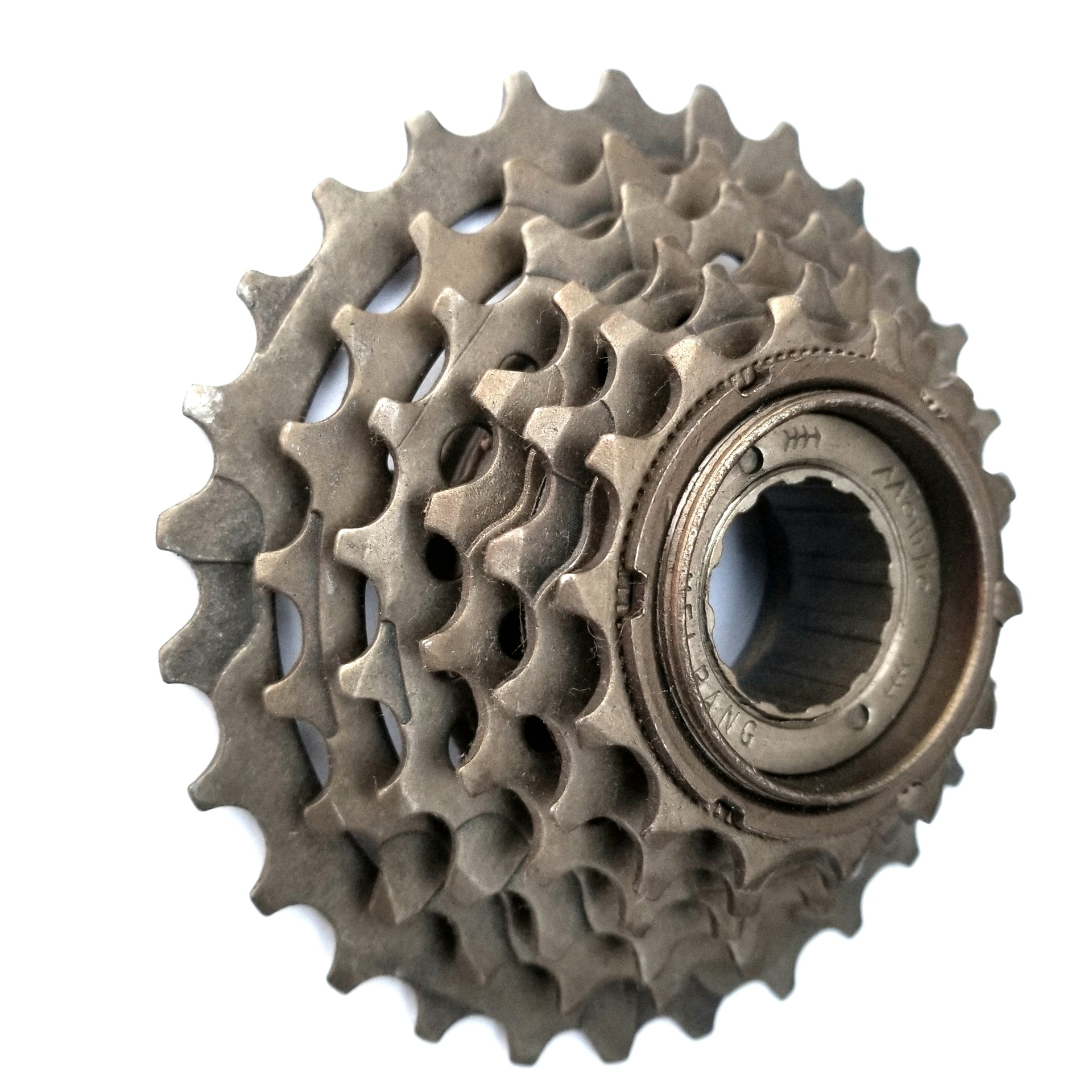 Flywheel/White Driving Accessories 6-Piece Spin Fly Mountain Bike Accessories Six Pieces Cone Pulley High Quality Flywheel Yan A