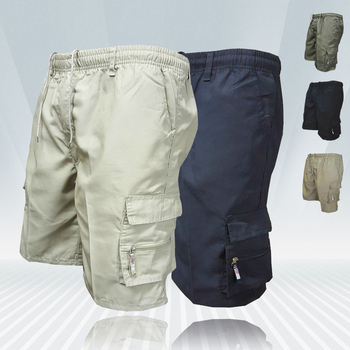 Mens Cargo Shorts New Side Multi-pockets Men Loose Work Shorts Casual Short Pants Male Plus Size Summer Outdoor Shorts Men's Bottoms