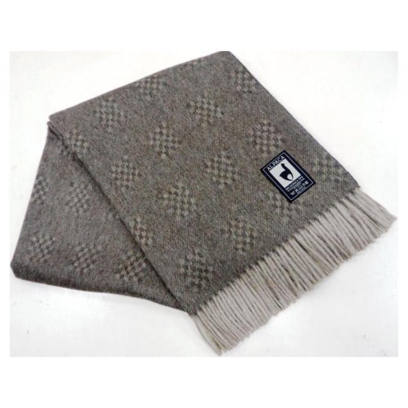 Plaid INCALPACA (55 wool alpaca, 45 wool Merino) PP-42 цена