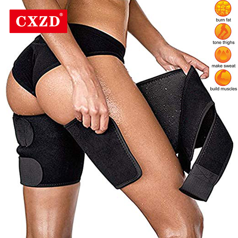 CXZD Thigh Trimmers For Men & Women  Increase Sweating Leg Shaper Sauna Calories Off Warmer Slender Slimming Legs Fat