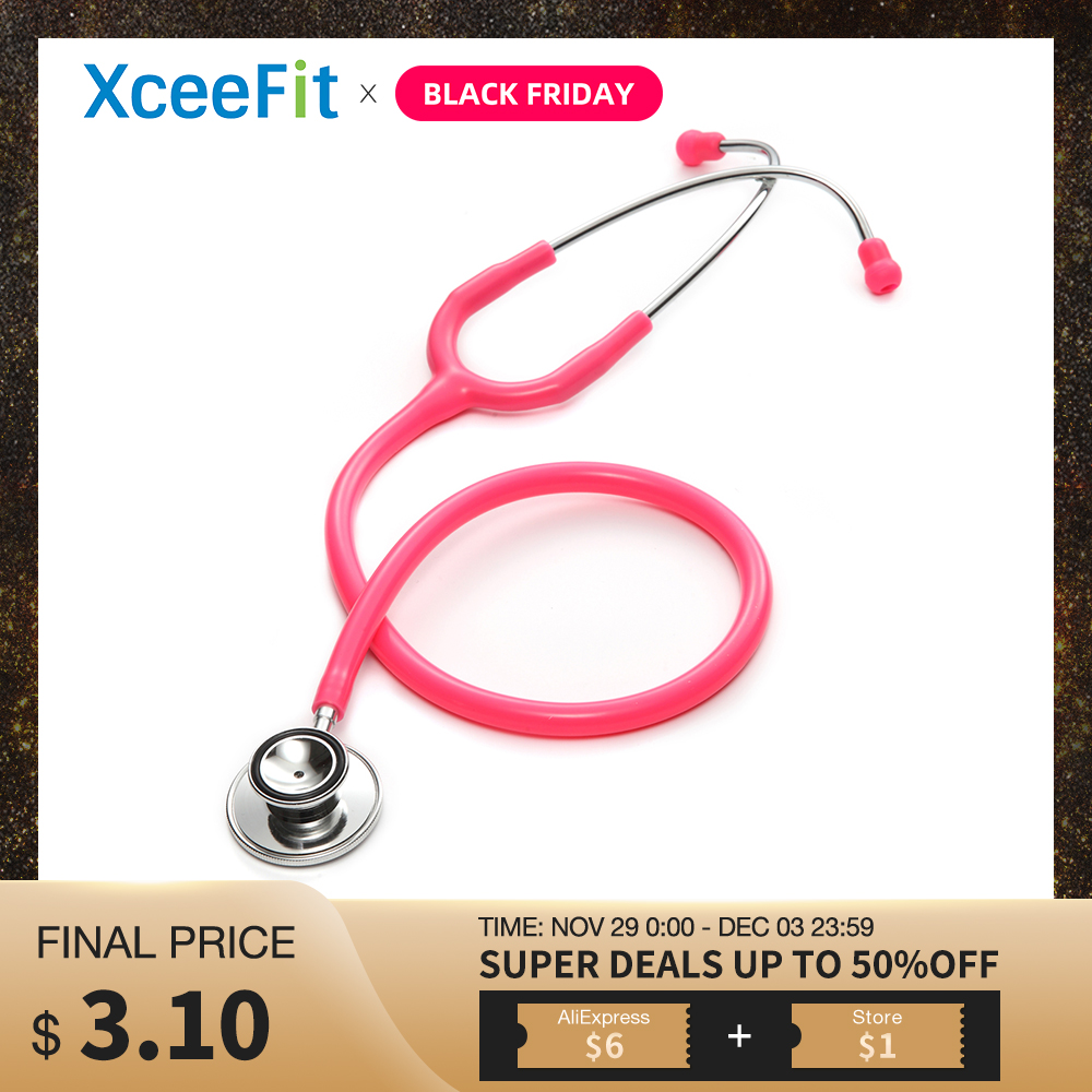 Deluxe Professional Dual Head Stethoscope Medical Doctor Stethoscope Doctor Cardiology Stethoscope Vet Medical Device Instrument