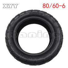Good quality 80/60-6 tire tubeless tire scooter wear-resistant for New electric scooter mini kibe avt for All of this model