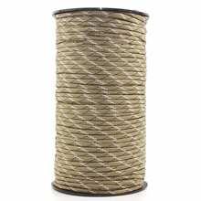 Паракорд веревка 100 метров 7 ядер 4 мм наружный прочный многоцелевой