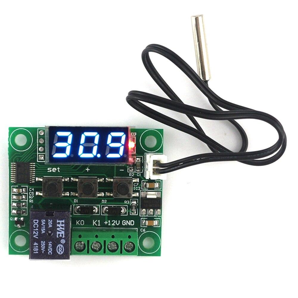 50-110℃ 12V Digital Thermostat Temp Control Board Sensor Module Electronic