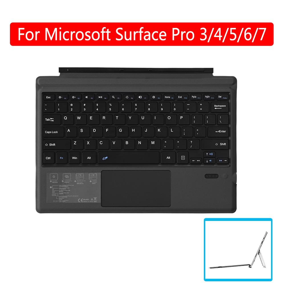 For Microsoft Surface Pro 3/4/5/6/7 Tablet Wireless Bluetooth 3.0 Tablet Keyboard PC Laptop Gaming Keyboard