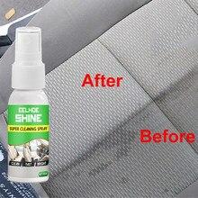Ferramentas de limpeza do carro 1 pçs 30ml peças de plástico recauchutagem agente assento de carro interiores mais limpo vidro da janela do carro acessórios do carro tslm1