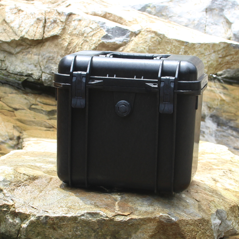 Portable Tool Case Suitcase Plastic Sealed Waterproof Safety Equipment Case Dry Box Outdoor Equipment Tool Box 286x220x263mm