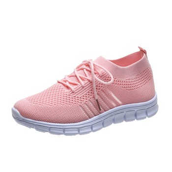 Fashion Women's Sneakers Mesh Casual Lace-up Sport Shoes Women Running Shoes For Men Lovers Breathable Shoes Sneakers 9
