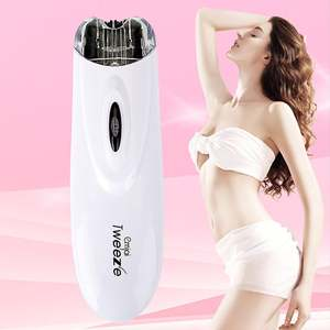 Epilator Hair-Removal Electric-Pull-Tweeze-Device Facial-Trimmer Female Beauty Women