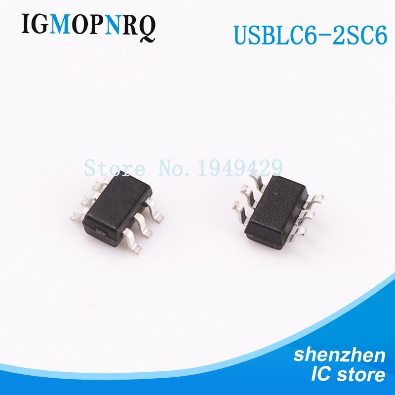 100 pieces TVS DIODE 5VWM 10VC SOT353