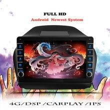 Rádio do carro de android 10.0 para hyundai tucson 2 ix35 2009 2010 2011-2015 reprodutor de vídeo multimídia wifi dvd navegação gps unidade principal