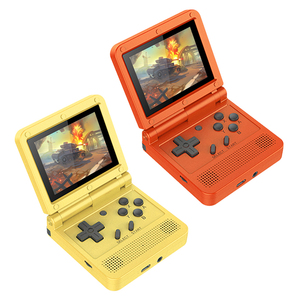POWKIDDY V90 Retro Flip Handheld Game Player 3.0 inch IPS Retro Flip Handheld Console Pocket Mini Video Game Player