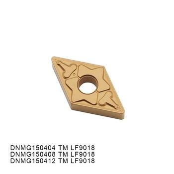10PCS DNMG150404 TM LF9018 DNMG150408 TM LF9018 DNMG150412 TM LF9018 Carbide Inserts Suitable For Steel Lathe Tools 10pcs deskar tnmg160408r s lf9018 tnmg160404l s lf9018 deskar turning tools carbide insert for steel stainless steel cast iron
