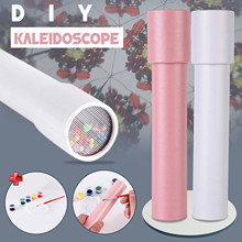 Diy Toy (containing 10ml Paint) Plasticine Safe Colorful Light Clay Toy Gift Rotating Colorful World Sensory Kaleidoscope