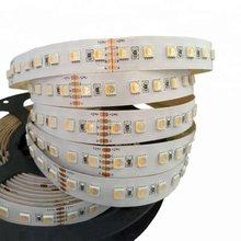 16.4ft dc24v 26w 12mm fpbc 420leds 4 em 1 5050 smd led luz de tira rgbw rgbww luz regulável e temperatura de cor ajustável
