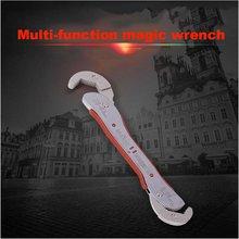 9-45 мм Универсальный Регулируемый волшебный ключ Многофункциональный гаечный ключ для дома ручные инструменты Быстрый захват