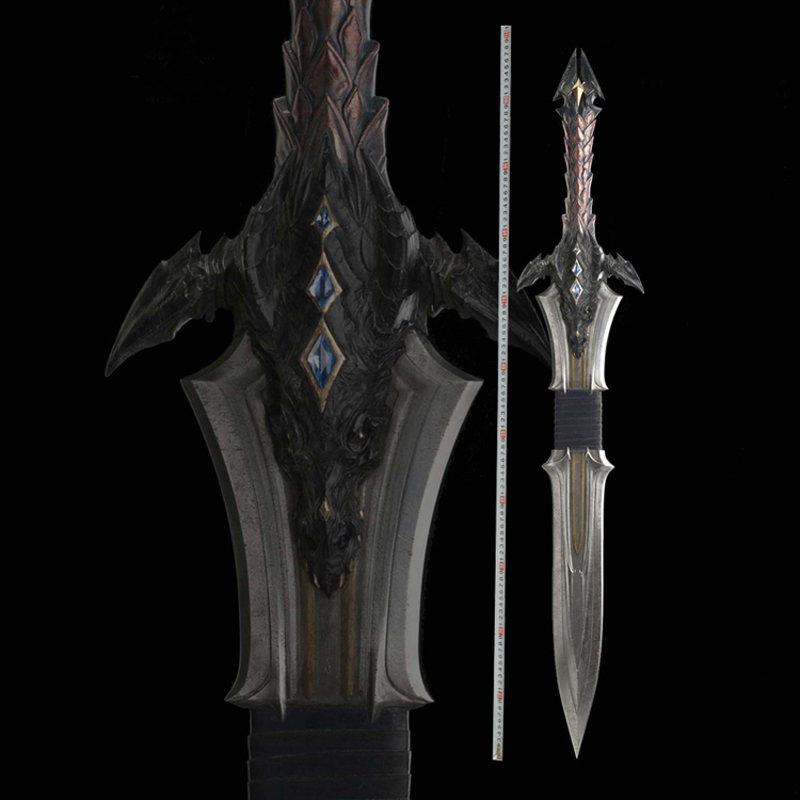 Cos WOW Sir Anduin Lothar Sword Cosplay Game Props Cool Toys Free Shipping Not Sharp