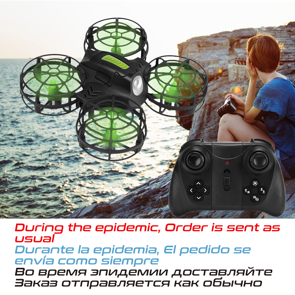AHOHA Mini Drone Rc Quadcopter Altitude Hold Quadrocopter Dron Headless Mode 2.4G Helicopter For Kids Toys For 14 Years Children