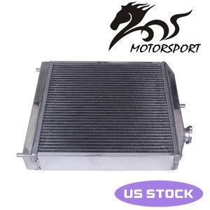 High performance Jdm 3 Row Racing Aluminum Radiator For Honda Civic EK EG DEl Sol Manual 60MM