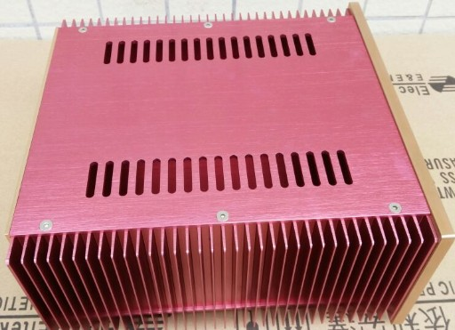 PASS class A case Y type radiator amplifier chassis accessories