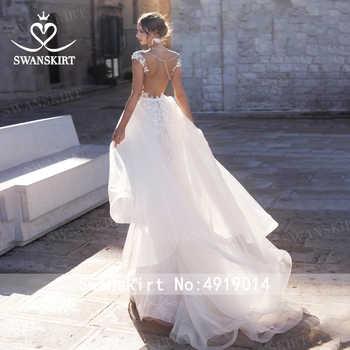 Sweetheart Detachable Train Wedding Dress Swanskirt N130 Appliques Mermaid Appliques Bridal Gown Customized Vestido de novia