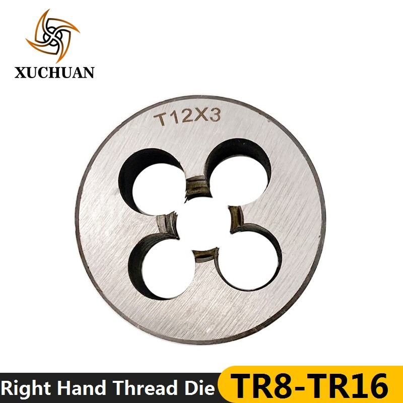 1pc TR8/10/14/16 Trapezoidal Thread Die Right Hand TR Machine Thread Die Threading Tools