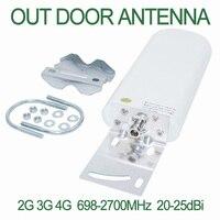 GSM антенна усилитель 3g 4G LTE Антенна 20 dBi 3g внешняя антенна с бесплатным кабелем 5 м 10 м кабель для сотового сигнала ретранслятора
