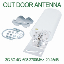 цены на GSM Antenna Booster 3G 4G LTE Antenna 20 dBi 3G External Antenna with Free cable 5M 10M Cable for Cellular Signal Repeater  в интернет-магазинах