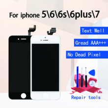 цены на Grade AAA+++ For iPhone5 7 6 6P 6S Plus LCD With 3D Force Touch Screen Digitizer Assembly For iPhone 5 Display No Dead Pixel  в интернет-магазинах