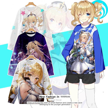 VEVEFHUANG Kосплей Genshin Impact 3D Cosplay Hoodies Sweatshirts Print Causal Anime Pullovers Tracksuit Sports Jacket Project 2