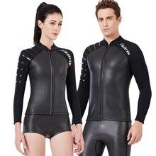 Гидрокостюм для дайвинга 3 мм куртки мужские и женские купальники