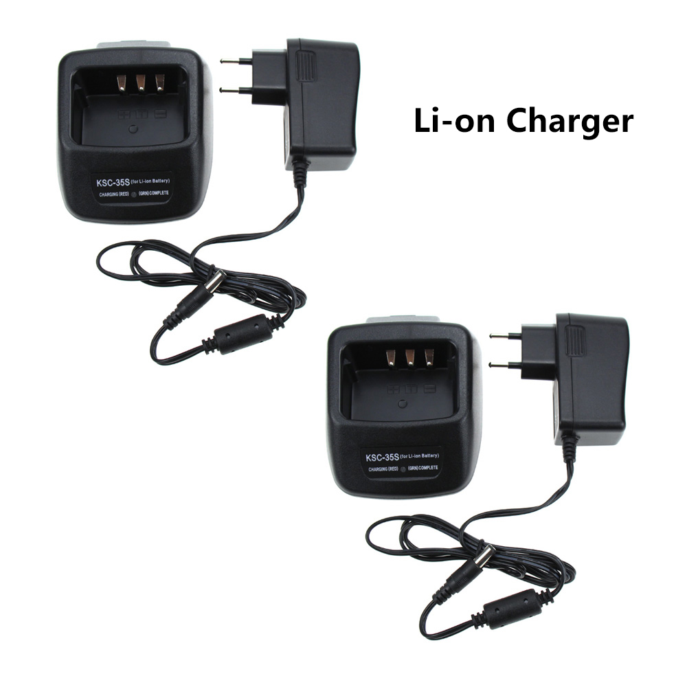 2X KSC-43 Quick Charger For Kenwood TK-2400 TK-2402 TK-3200L TK-3200LP TK-3300UP TK-3302UK TK-3400 TK-3402 Radio
